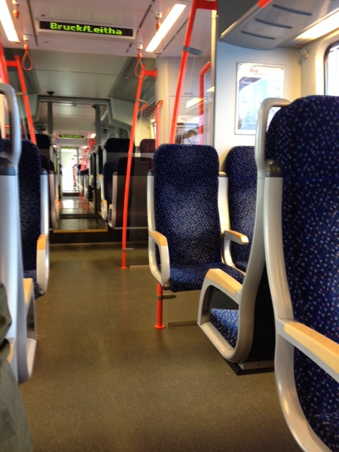 Empty Train Waggon